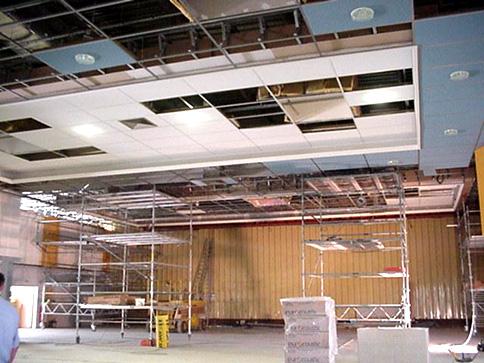 Guichot entreprise nos m tiers - Faux plafond industriel ...